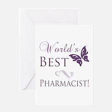 World's Best Pharmacist Greeting Card