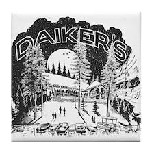 Daikers Logo Tile Coaster