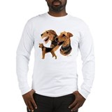 Airedale terrier Long Sleeve T-shirts