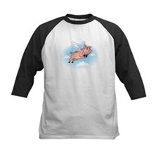 When Pigs Fly Happy Piggy Tee
