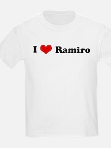I Love Ramiro Kids T-Shirt