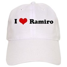 I Love Ramiro Baseball Cap