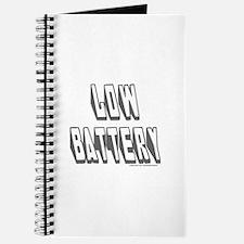 LOW BATTERY Journal