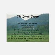 Lord's Prayer at Wolf Fork Valley Rectangle Magnet
