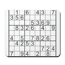 Sudoku Mousepad
