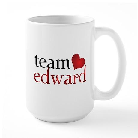 Team Edward Large Mug