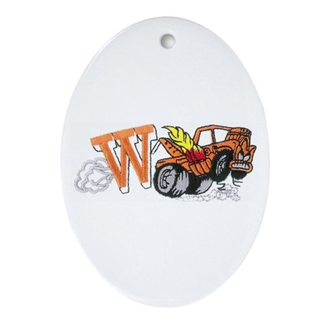 Weatherly Wrecker Ornament (Oval)