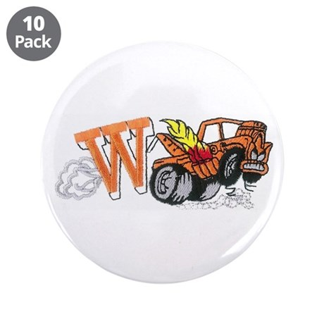 "Weatherly Wrecker 3.5"" Button (10 pack)"