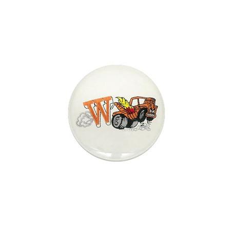 Weatherly Wrecker Mini Button