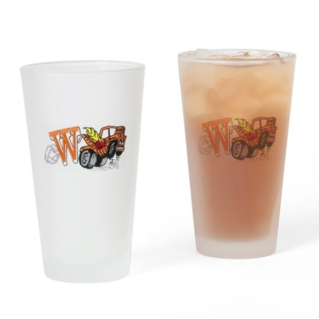Weatherly Wrecker Drinking Glass
