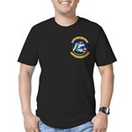 322ND BOMB SQUADRON Men's Fitted T-Shirt (dark)
