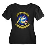 322ND BOMB SQUADRON Women's Plus Size Scoop Neck D