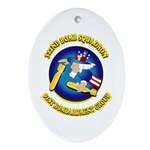 322ND BOMB SQUADRON Ornament (Oval)