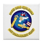 322ND BOMB SQUADRON Tile Coaster