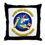 322ND BOMB SQUADRON Throw Pillow