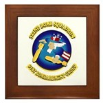322ND BOMB SQUADRON Framed Tile