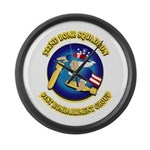 322ND BOMB SQUADRON Large Wall Clock