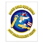 322ND BOMB SQUADRON Small Poster
