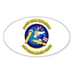 322ND BOMB SQUADRON Sticker (Oval 50 pk)