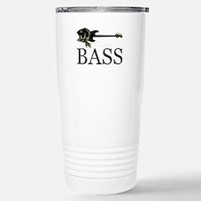 Unique Bass fish Travel Mug