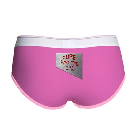 Cure for the 1 percent Women's Boy Brief
