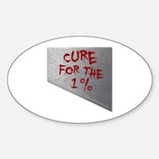 Cure for the 1 percent Decal