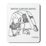 Primitive Computer Graphics Mousepad