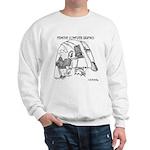 Primitive Computer Graphics Sweatshirt
