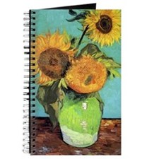Van Gogh - Three Sunflowers Journal