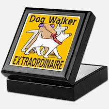 Professional Dog Walker Keepsake Box
