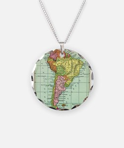 Cute Geography teachers Necklace