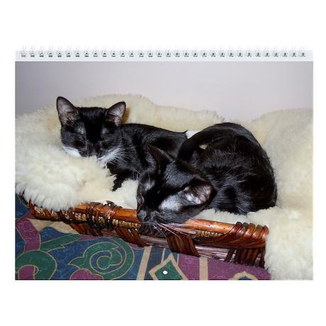 Kitties-Sisters Wall Calendar 1