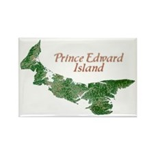 Prince Edward Island Rectangle Magnet