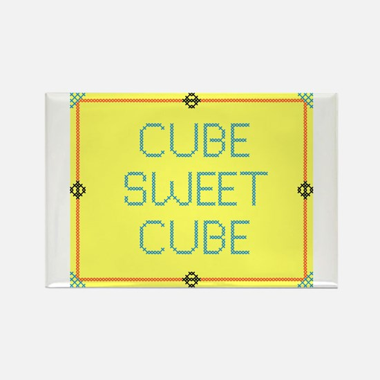 CubeSweetCube Rectangle Magnet