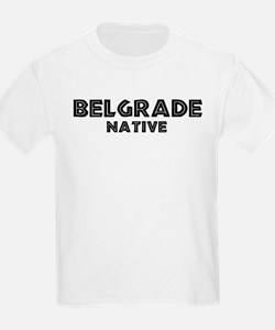 Belgrade Native Kids T-Shirt