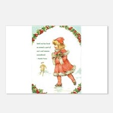 Unique Little christmas Postcards (Package of 8)