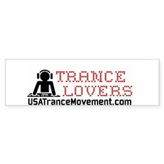 Trance Lovers Bumper Sticker