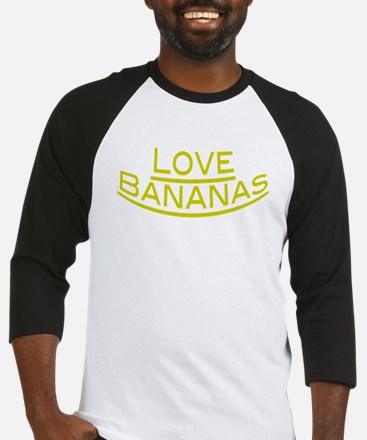 Love Bananas Baseball Jersey