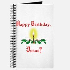 Happy Birthday, Jesus Christmas Card Journal