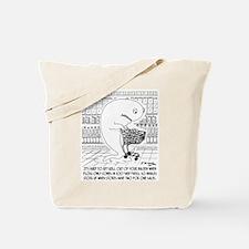 Whale Floss Tote Bag