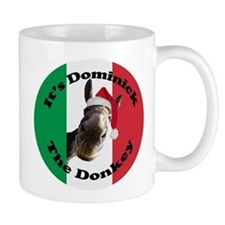 It's Dominick! (round) Small Mug