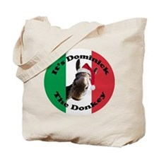 It's Dominick! (round) Tote Bag