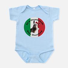 It's Dominick! (round) Infant Bodysuit