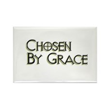 Chosen By Grace Rectangle Magnet
