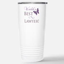 World's Best Lawyer Stainless Steel Travel Mug