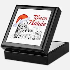 Buon Natale Roma Keepsake Box
