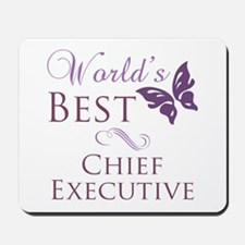 World's Best Chief Executive Mousepad