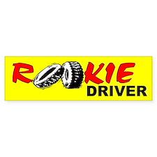 Rookie Driver Bumper Bumper Sticker
