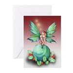 Little Christmas Fairy Greeting Cards (Pk of 20)