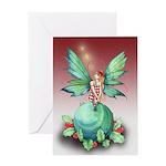 Little Christmas Fairy Greeting Card